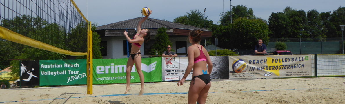 Beach Volleyball in Niederösterreich